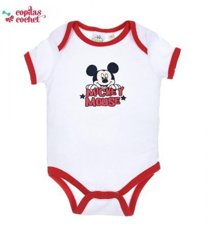 Body vara Mickey Mouse (rosu)