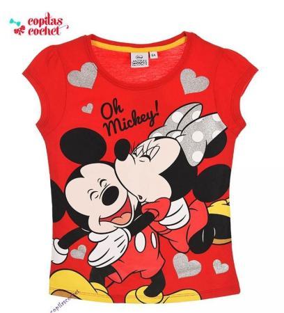 Tricou Minnie Mouse (rosu)