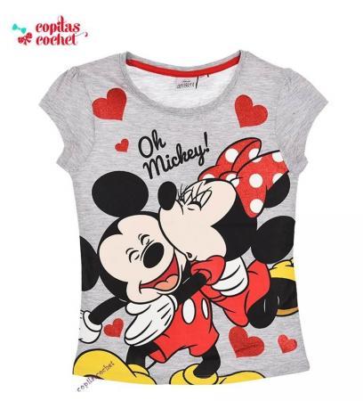 Tricou Minnie Mouse (gri)