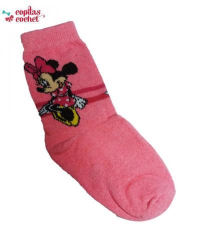 Sosete Minnie Mouse(fucsia)