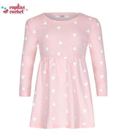 Rochie roz inimioare