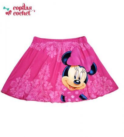 Fusta Minnie Mouse (fucsia)