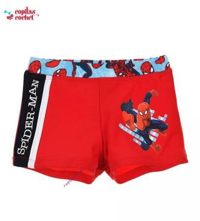 Boxer de baie Spiderman (rosu)