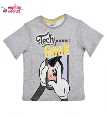 Tricou Mickey Mouse (gri)