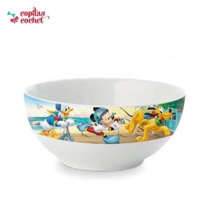 Bol Mickey Mouse,Donald si Goofy la mare