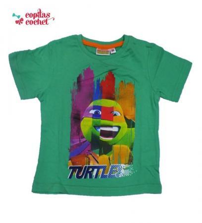 Tricou Testoasele Ninja (verde)