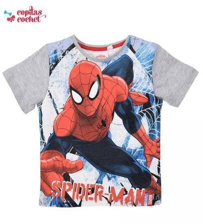 Tricou Spiderman (gri)