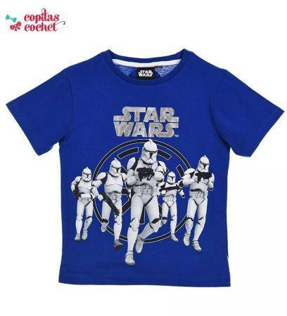Tricou Star Wars (albastru)
