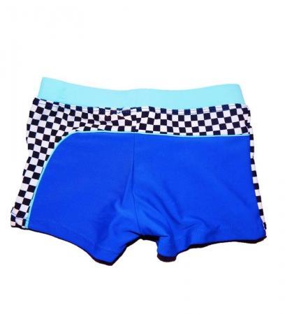 Boxer de baie Fulger McQueen (albastru)