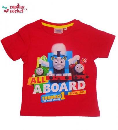 Tricou Thomas (rosu)
