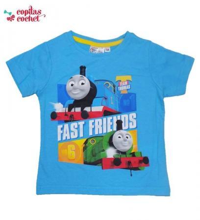 Tricou Thomas (albastru)