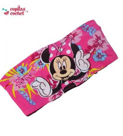 Bandana Minnie Mouse (fucsia)