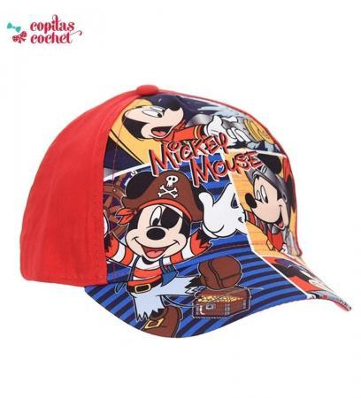 Sapca Mickey Mouse (rosu)