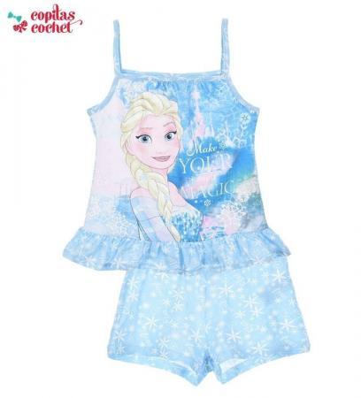 Pijamale de vara Elsa