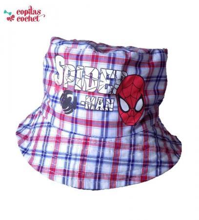 Palarie Spiderman bleumarin(2 fete)