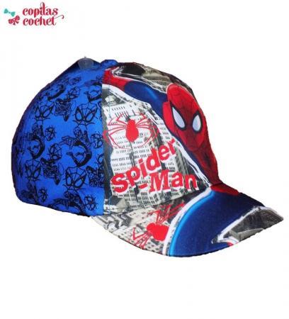 Sapca Spiderman (albastru)