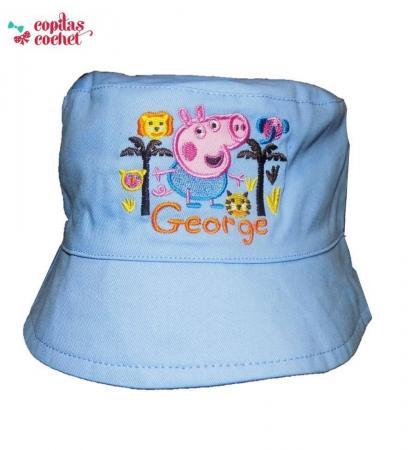 Palarie George Pig (bleu)