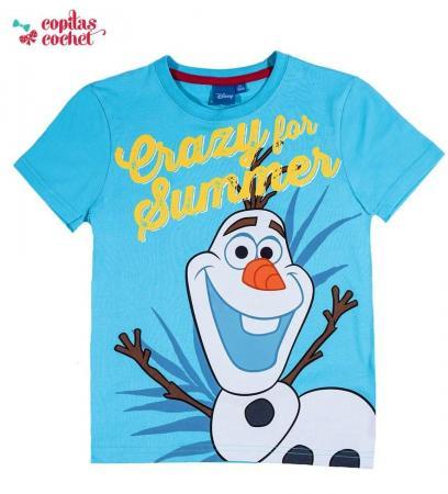 Tricou Olaf (albastru)