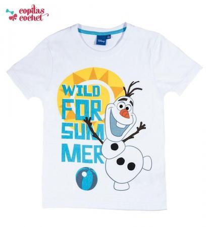 Tricou Olaf (alb)