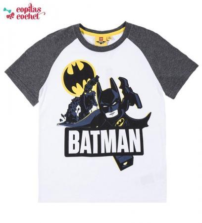 Tricou Lego Batman (alb)