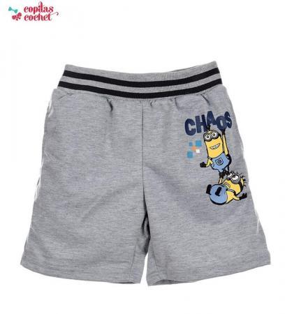 Pantaloni srti Minions (gri)