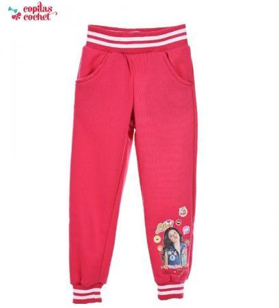 Pantaloni trening Soy Luna (fucsia)