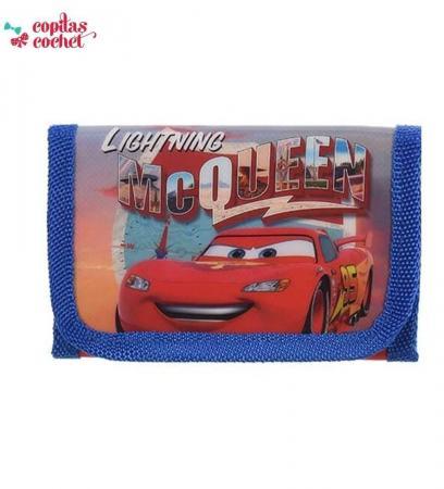 Portofel Fulger McQueen (albastru)