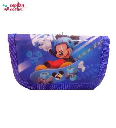 Portofel Mickey Mouse (albastru)