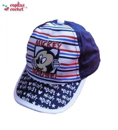 Sapca bebe Mickey Mouse (bleumarin)
