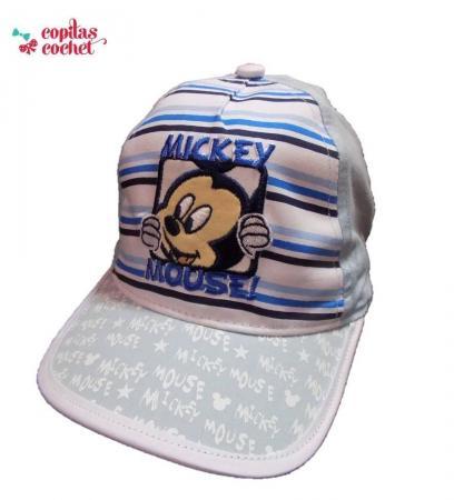 Sapca bebe Mickey Mouse (bleu)