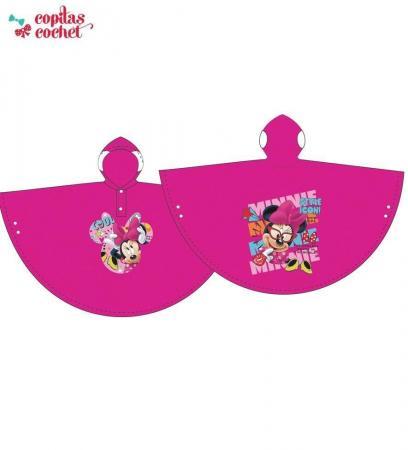 Pelerina de ploaie Minnie Mouse (fucsia)