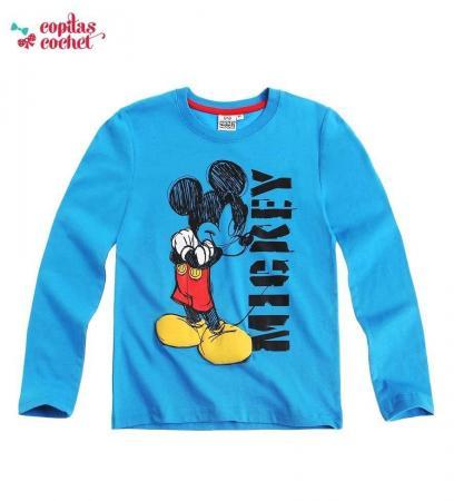 Bluza Mickey Mouse (albastru)