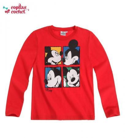 Bluza Mickey Mouse (rosu)