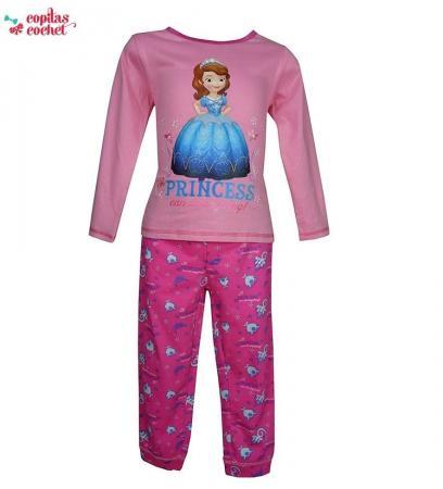 Pijamale Sofia (roz-fucsia)
