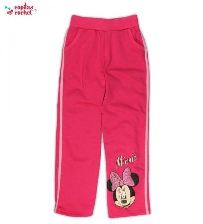 Pantaloni trening Minnie Mouse(roz)