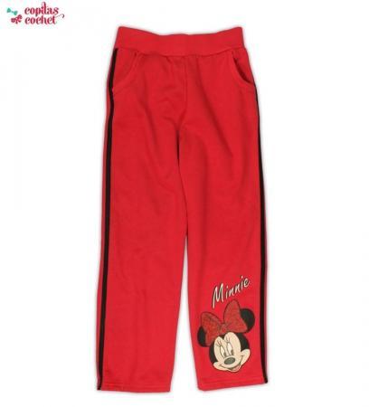 Pantaloni trening Minnie Mouse (rosu)