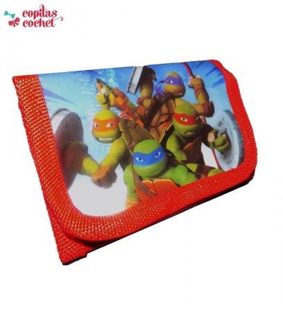 Portofel Testoasele Ninja (rosu)