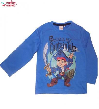 Bluza Jake si Piratii (albastru)