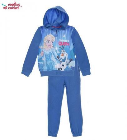 Trening albastru Elsa si Olaf