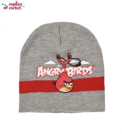Caciula Angry Birds (gri)
