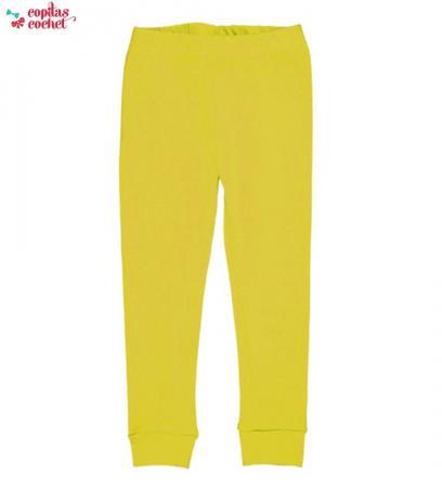 Pantaloni pijama (galben)