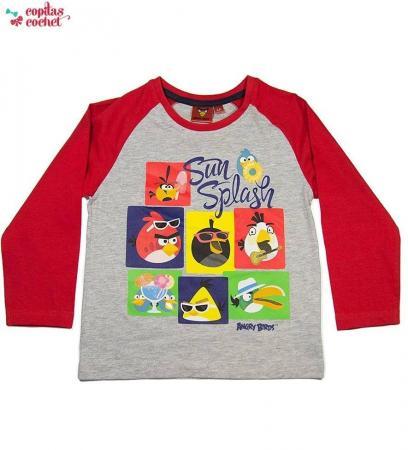 Bluza Angry Birds (rosu-gri)