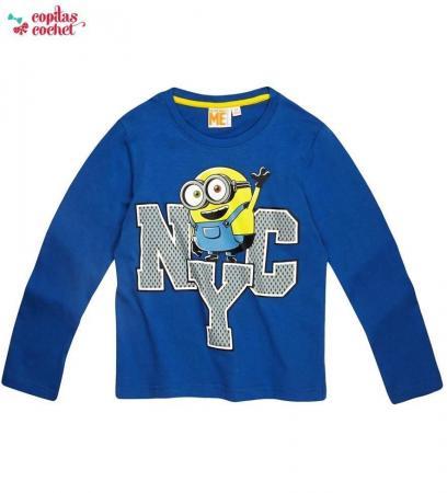 Bluza Minions NYC (albastru)