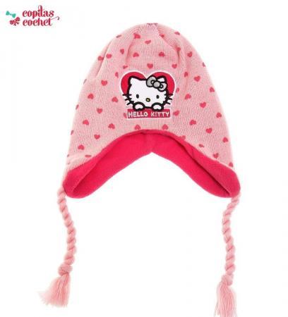 Caciula captusita Hello Kitty (roz)