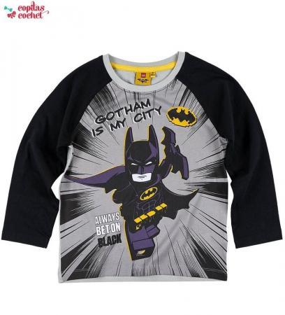 Bluza Lego Batman (negru-gri)