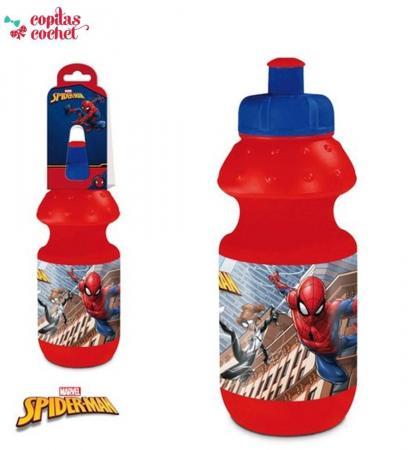 Sticla pirator Spiderman (rosu)