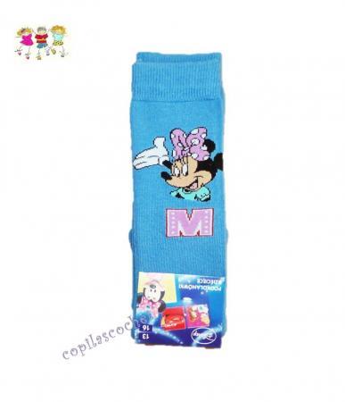 Sosete 3-4 Minnie Mouse (albastru)