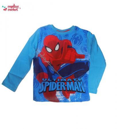 Bluza Spiderman (albastru)